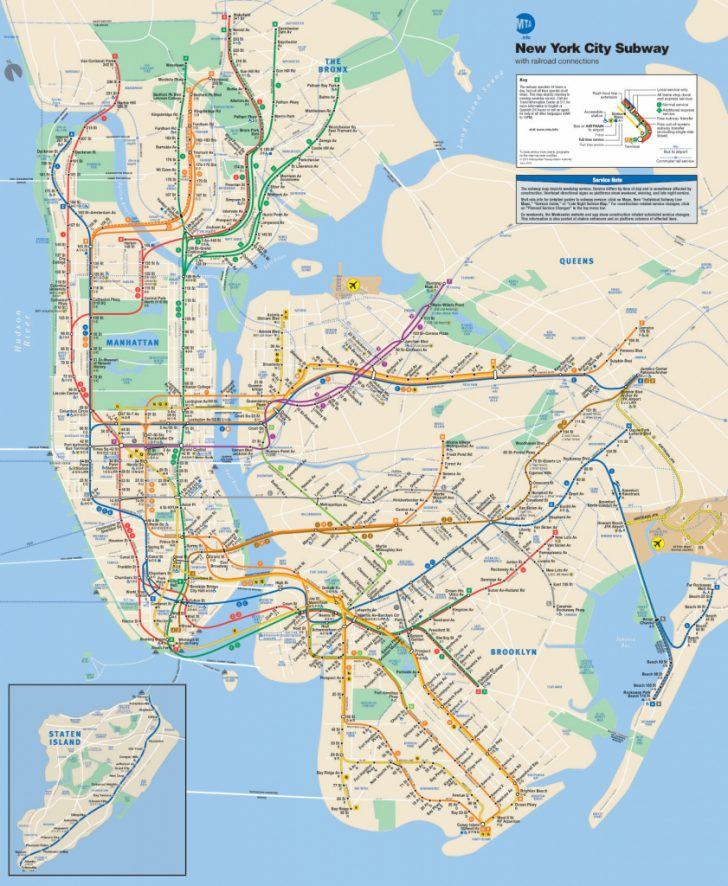 Printable Nyc Subway Map