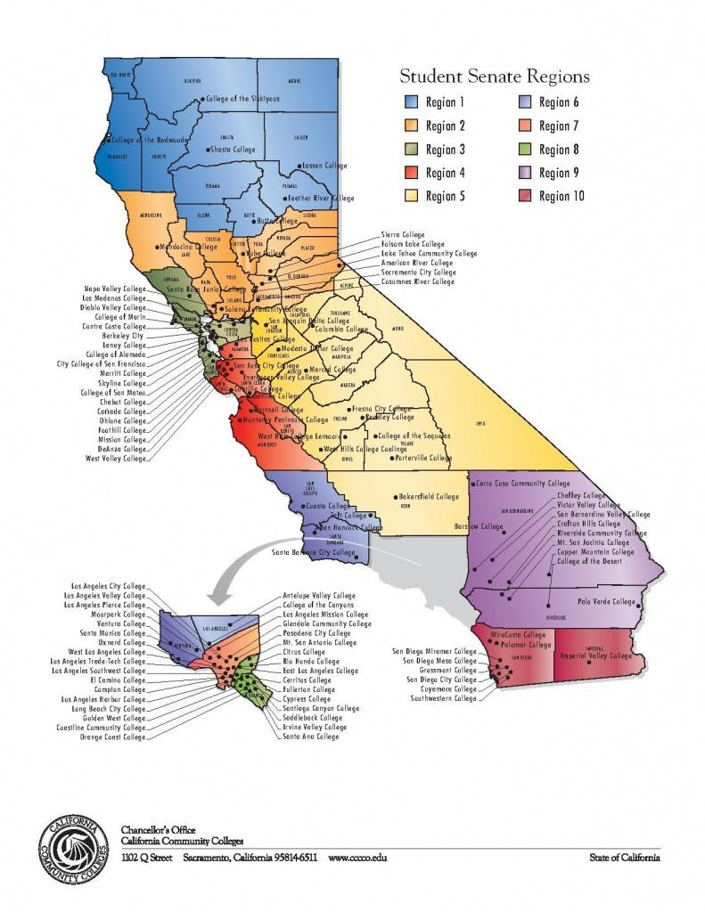 File:student Senate Regions Map.pdf - Wikipedia - California Community Colleges Map