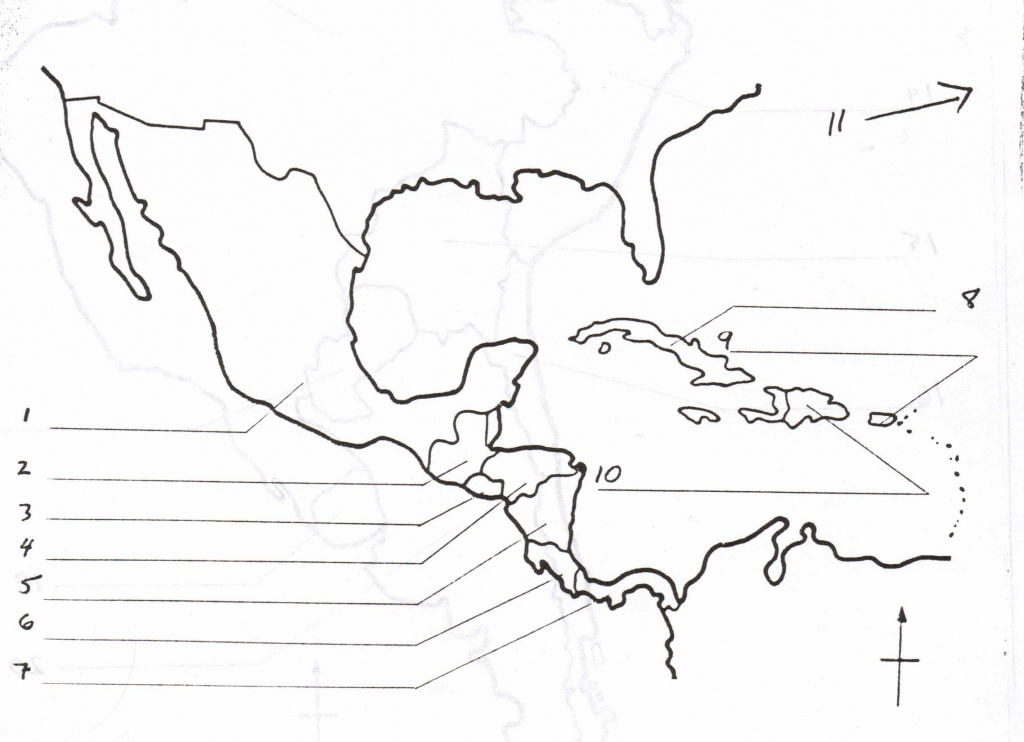 Fill In The Blank Us Map Quiz Central America Map Puzzle Game 58 - Central America Map Quiz Printable