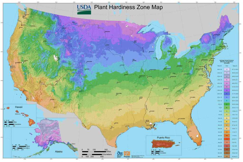 Find Your Growing Zone | Gardeninminutes - Florida Growing Zones Map