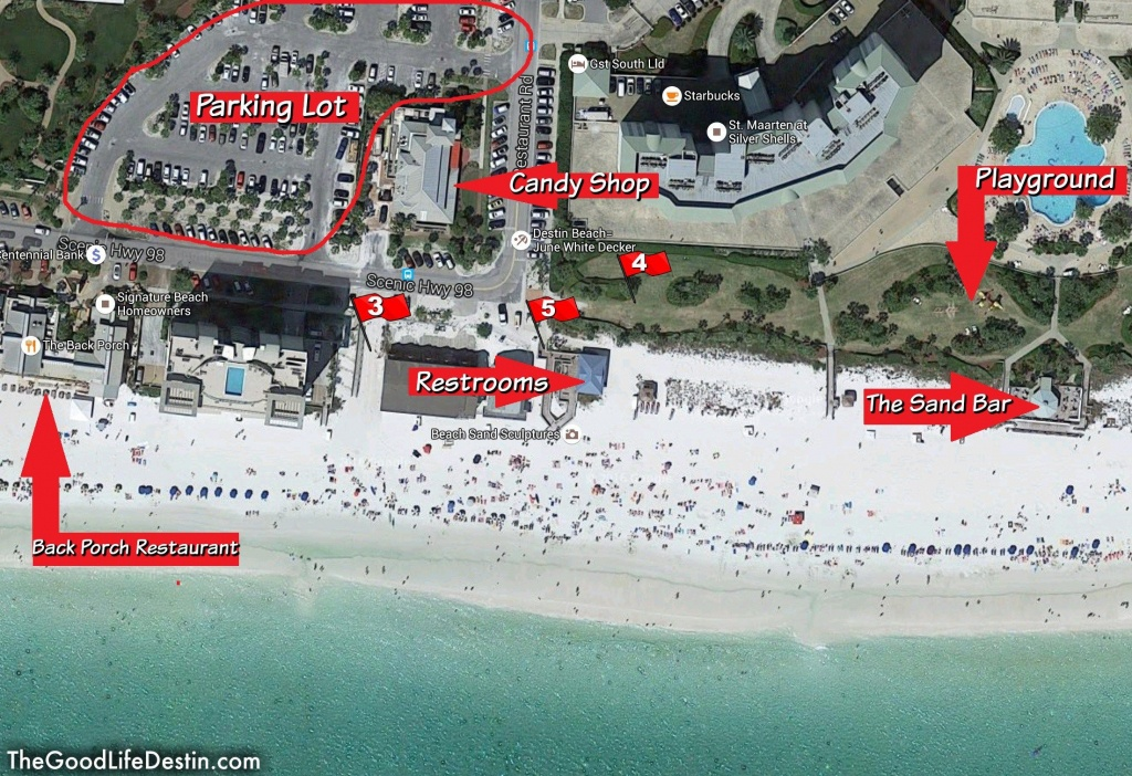 Find Your Perfect Beach In Destin Florida | Fyi | Destin Florida - Destin Florida Map Of Beaches