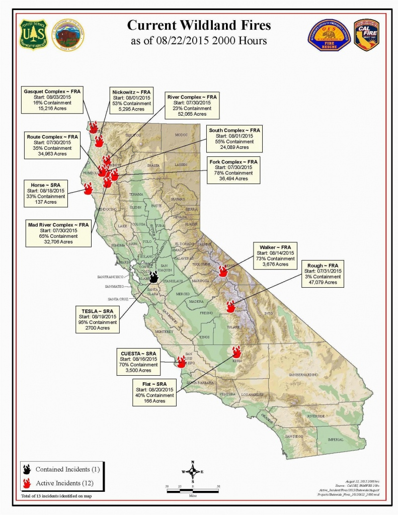 Fire Map California Fires Current Southern California Wildfire Map - Active Fire Map California