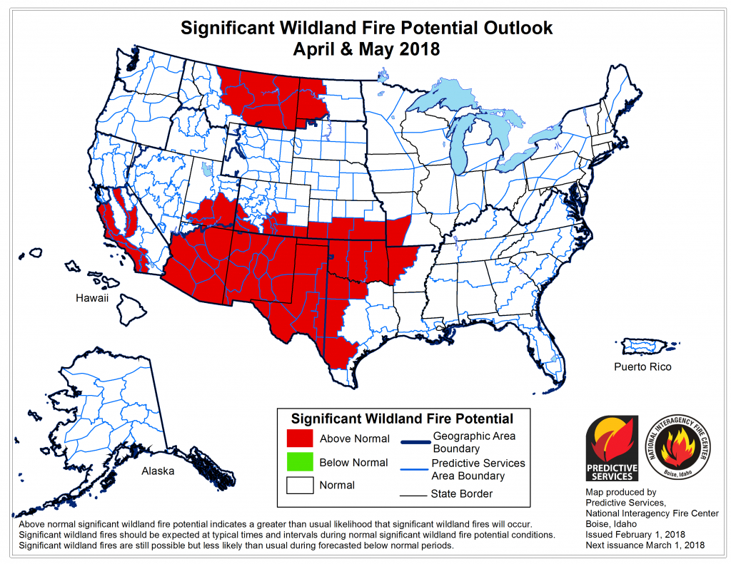 Fire Weather - Texas Active Fire Map