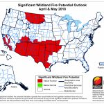 Fire Weather - West Texas Fires Map