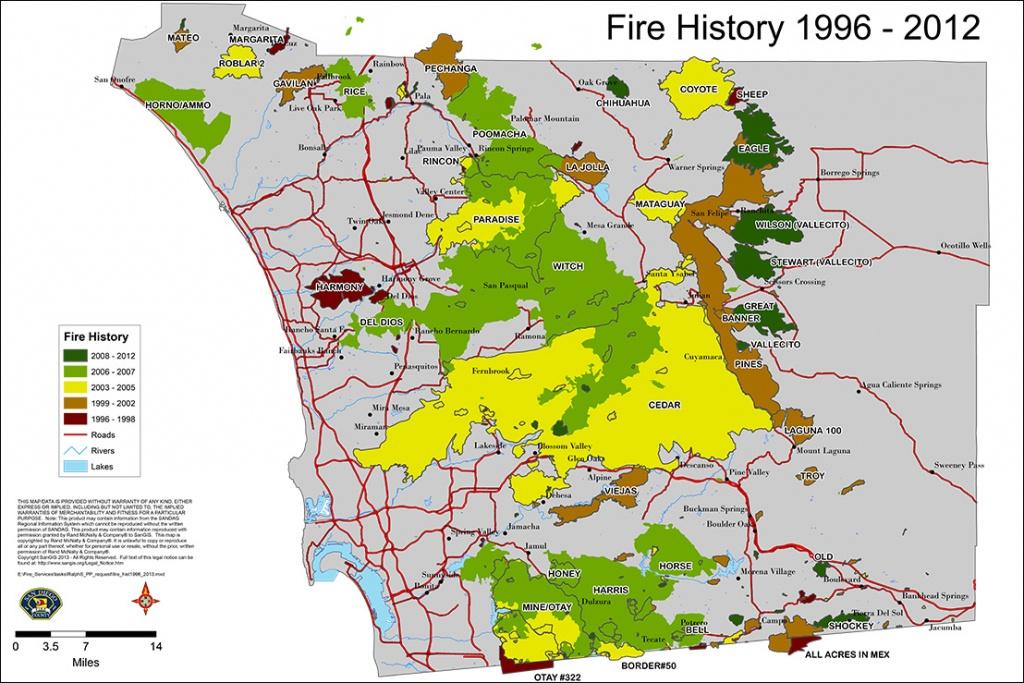 Fires San Diego Map | Woestenhoeve - San Diego California Fire Map