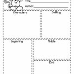 First Grade A La Carte: Story Elements Freebie | Reading In   Printable Story Map For First Grade