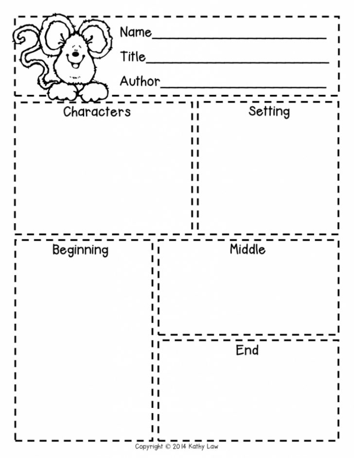 Printable Story Map For First Grade