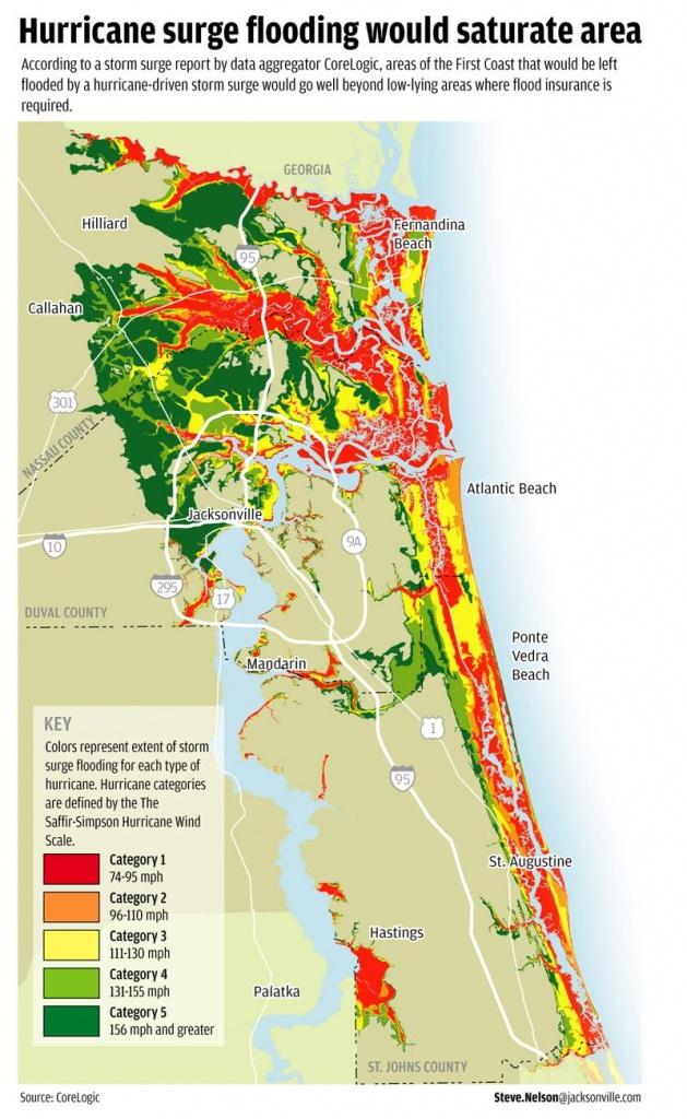 Flood Areas North East Fl. | Florida Living | Florida, Florida - Nassau County Florida Flood Zone Map