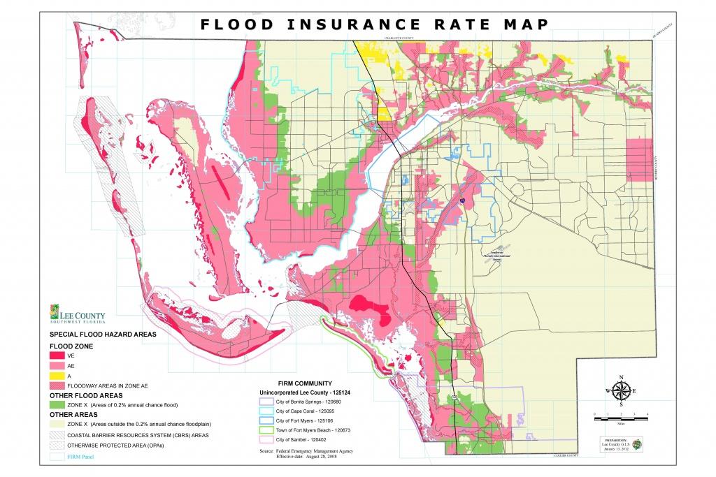 Flood Insurance Rate Maps - Fema Flood Zone Map Florida
