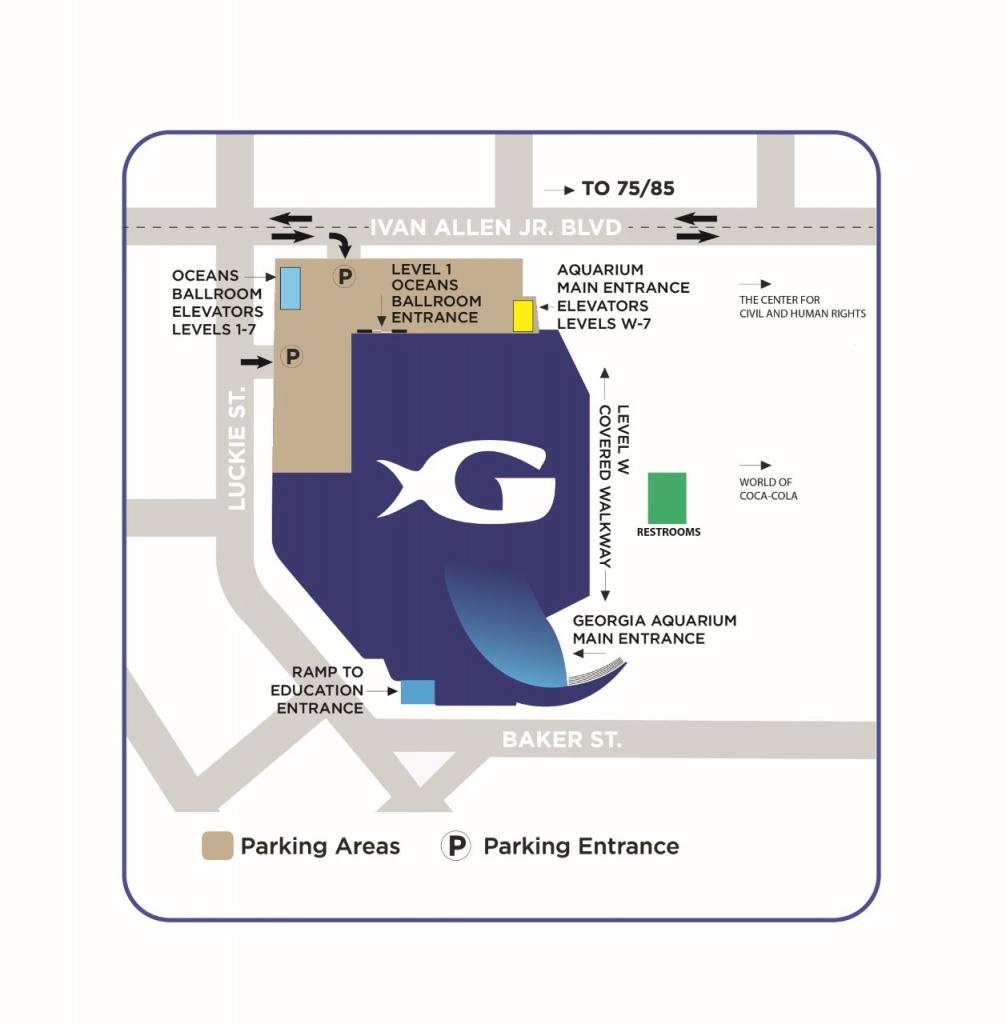 Florida Aquarium Map Ga Aquarium Parking Of Florida Aquarium Map - Florida Aquarium Map