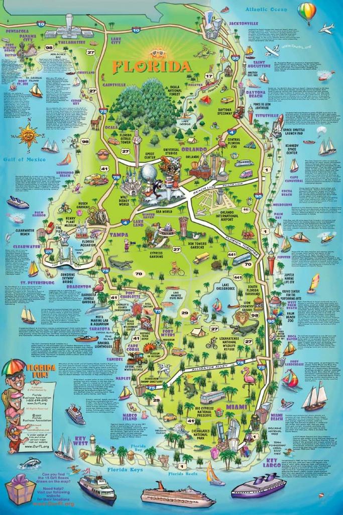 Florida Attraction Map - Google Search   Bucket List!!!   Map - Florida Attractions Map