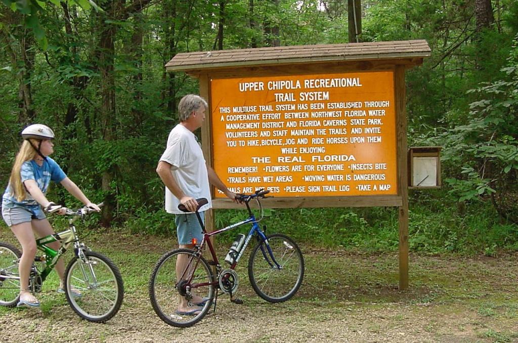 Florida Caverns State Park, Florida - Camping Reservations - Florida Caverns State Park Map