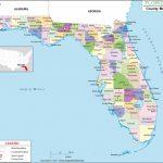 Florida County Map, Florida Counties, Counties In Florida   Map Of Alabama And Florida Beaches
