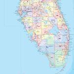 Florida County Wall Map   Maps   Laminated Florida Map