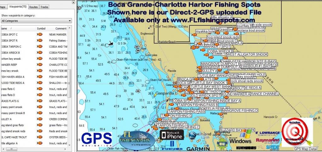 Florida Fishing Maps With Gps Coordinates | Florida Fishing Maps For Gps - Florida Fishing Map