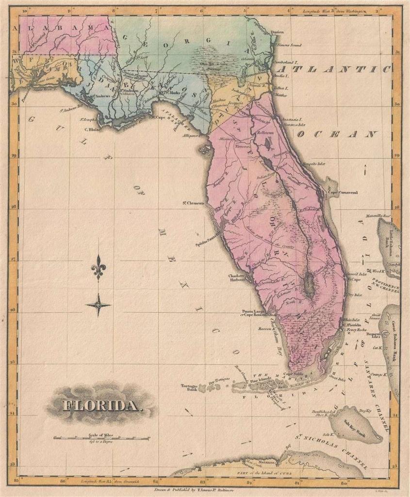 Florida.: Geographicus Rare Antique Maps - Antique Florida Map