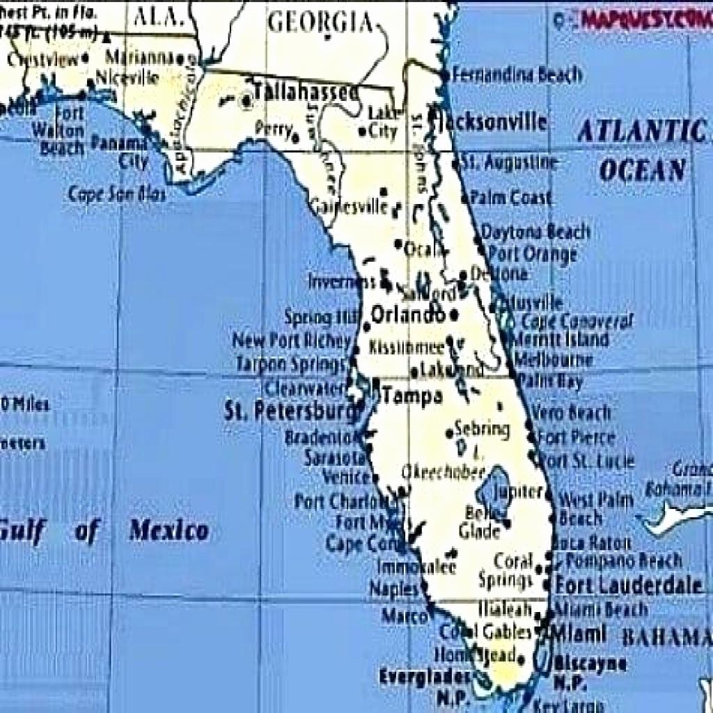 Florida Gulf Coast Beaches Map Fresh Alabama Florida Map - Map Of Florida Gulf Coast