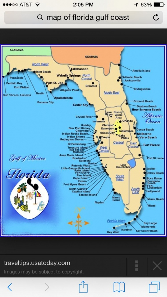 Florida Gulf Coast Beaches Map | M88M88 - Best Florida Gulf Coast Beaches Map