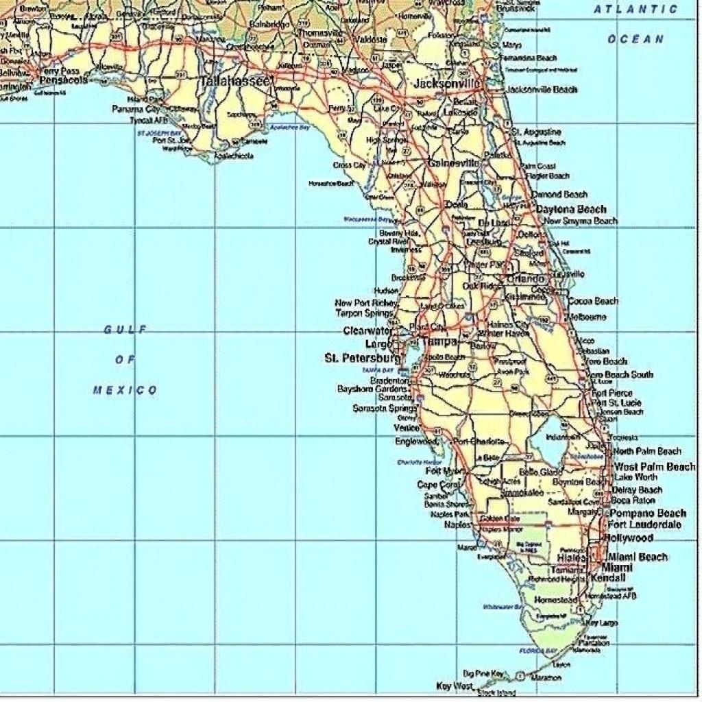 Florida Gulf Coast Beaches Map Map Of Florida West Coast Cities Map - Mexico Beach Florida Map