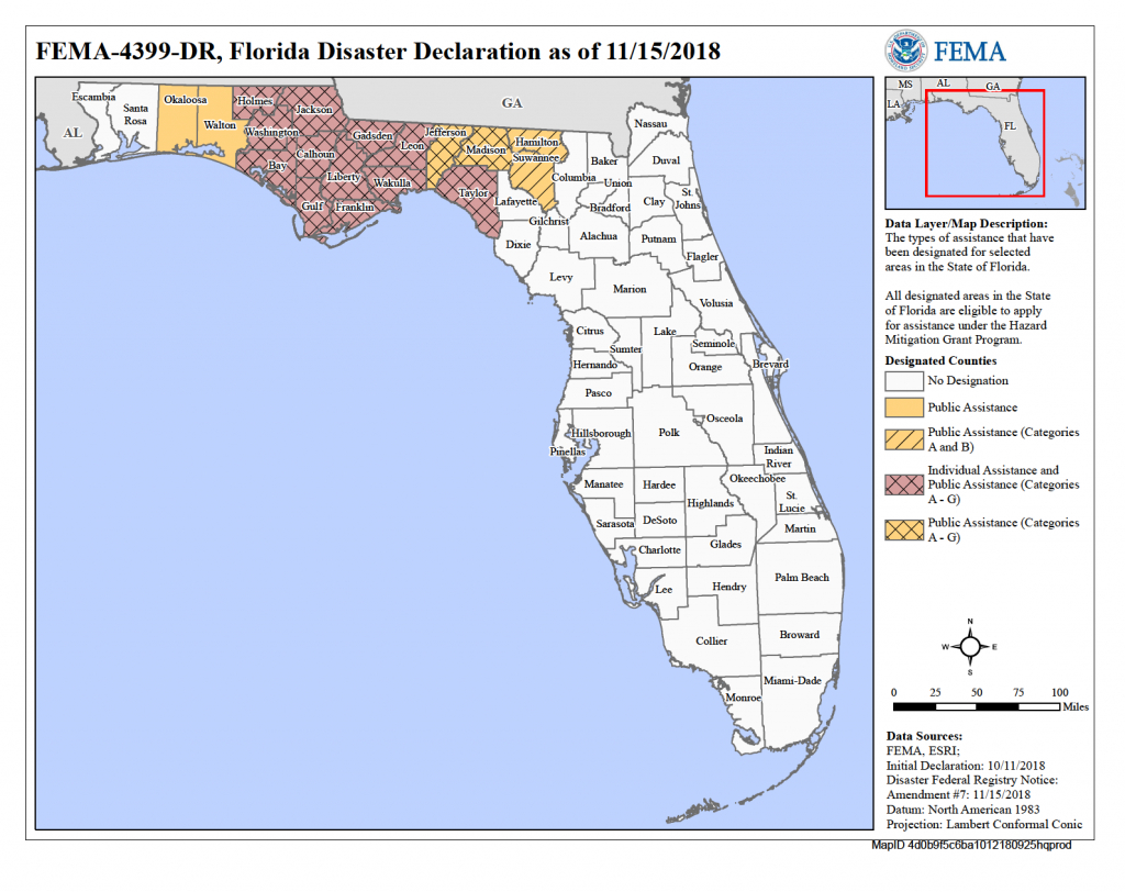 Florida Hurricane Michael (Dr-4399) | Fema.gov - Flood Insurance Rate Map Florida