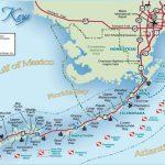 Florida Keys And Key West Real Estate And Tourist Information   Detailed Map Of Florida Keys