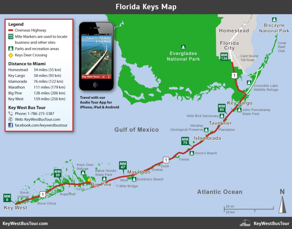 Florida Keys Map :: Key West Bus Tour - Map Of Lower Florida