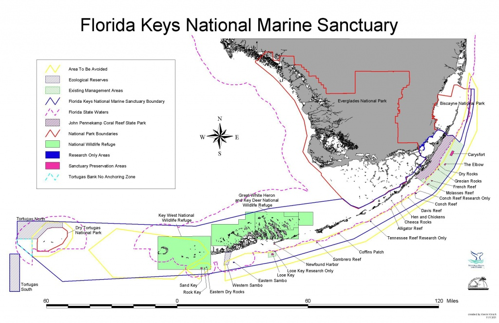 Florida Keys National Marine Sanctuary - Wikipedia - Florida Reef Map