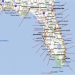 Florida Map East Coast Cities And Travel Information | Download Free   Map Of East Coast Of Florida Cities