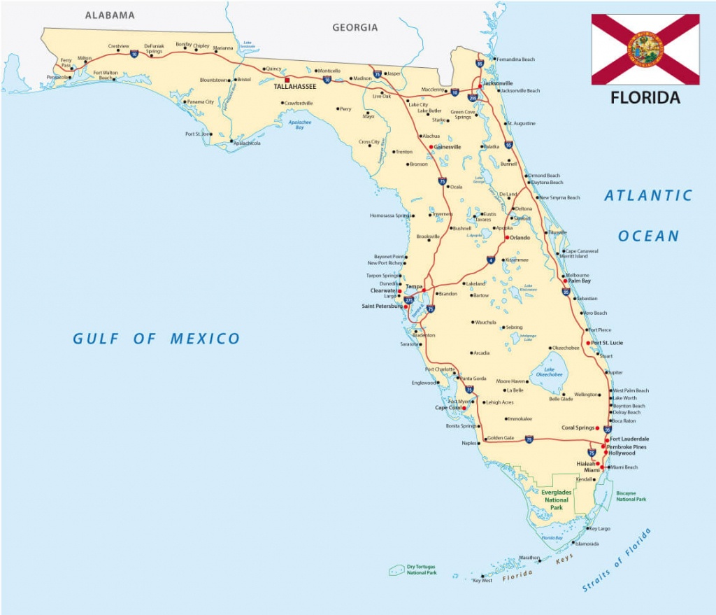 Florida Map - Safety Harbor Florida Map