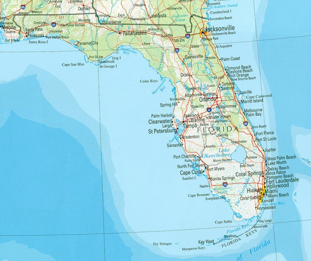 Florida Maps - Perry-Castañeda Map Collection - Ut Library Online - City Map Of Palm Harbor Florida