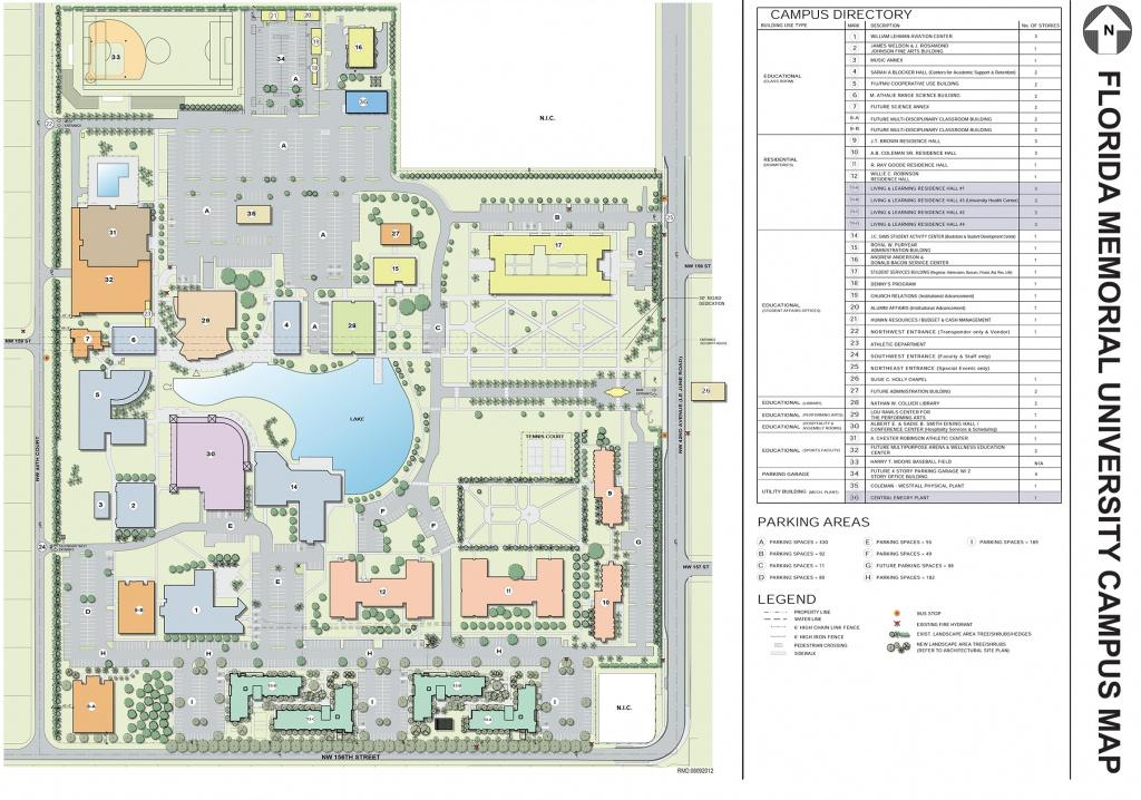 Florida Memorial University » Map & Directions - Florida Map Directions