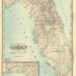 Florida Memory - County Map Of Florida, 1885 | History Of Plant City - Plant City Florida Map