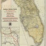 Florida Memory - Map Of Florida, Ca. 1922 | History Of Plant City - Plant City Florida Map