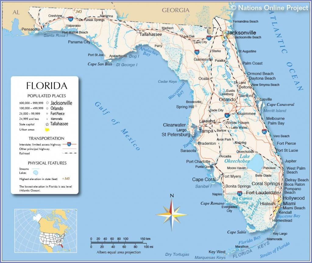 Florida - Miami, Fort Lauderdale, Hollywood, Islamorada, Orlando - Islamorada Florida Map