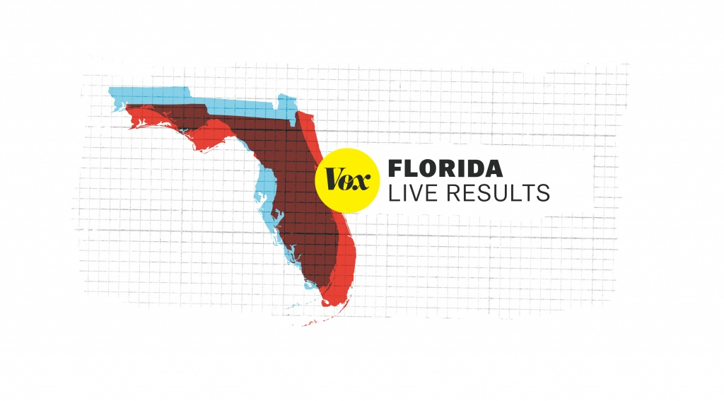 Florida Midterm Election Results - Florida State Representatives Map