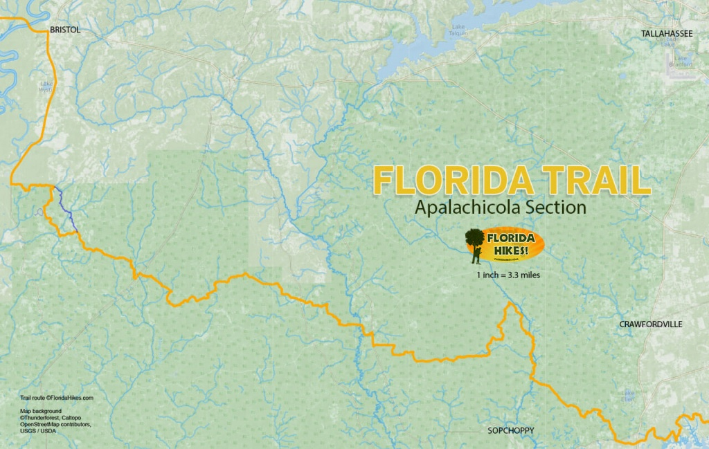 Florida Outdoor Recreation Maps | Florida Hikes! - Florida Scenic Trail Interactive Map