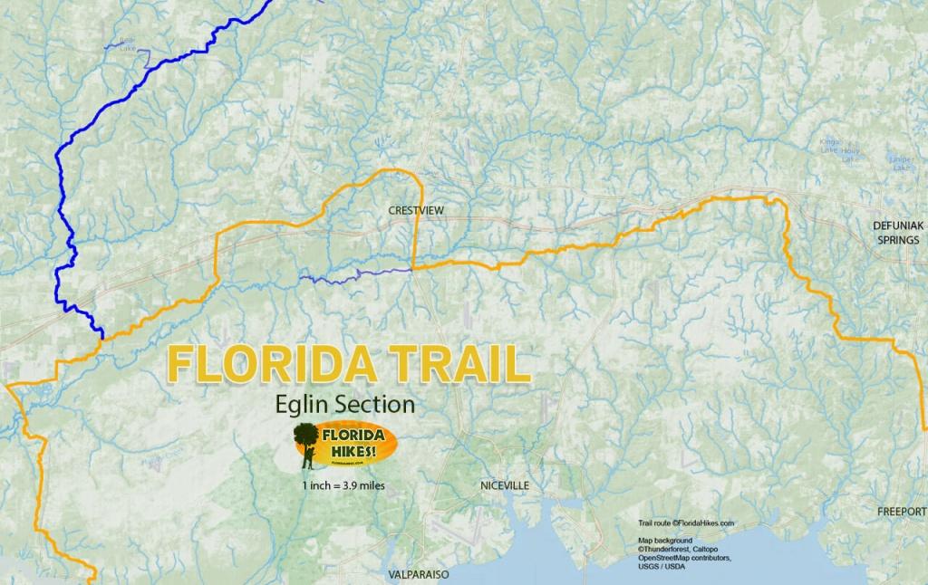 Florida Outdoor Recreation Maps | Florida Hikes! - Florida Springs Map