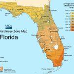Florida Plant Hardiness Zone Map • Mapsof   Plant Zone Map Florida