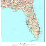 Florida Political Map   Laminated Florida Map