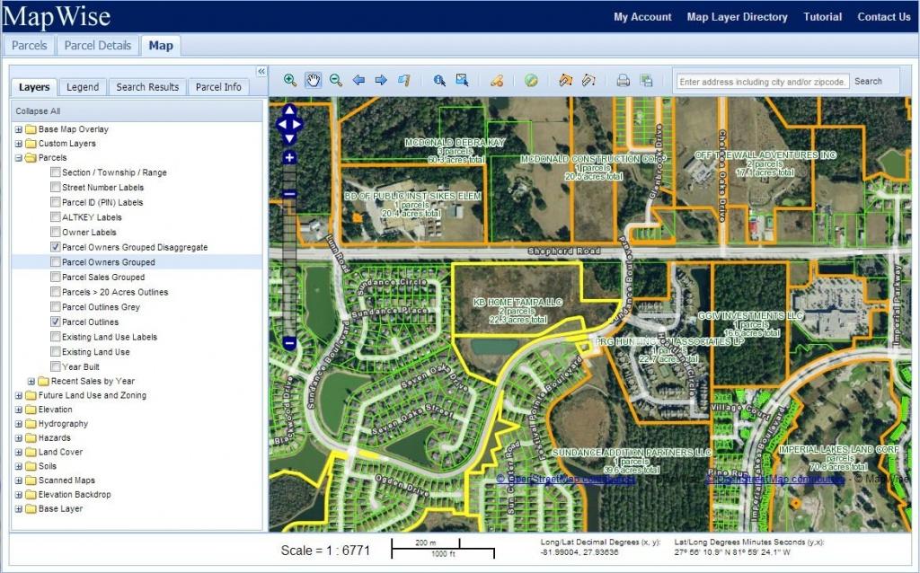 Florida Property Appraiser Parcel Maps And Property Data - Flood Zone Map Osceola County Florida