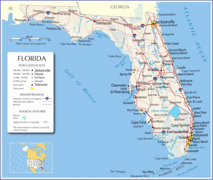 Florida Road Map Google