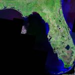 Florida Satellite Images   Landsat Color Image   Satellite Map Of Florida