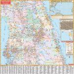 Florida State Central Wall Map – Kappa Map Group   Laminated Florida Map