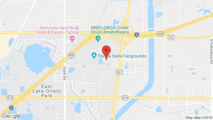Florida State Fairgrounds Map