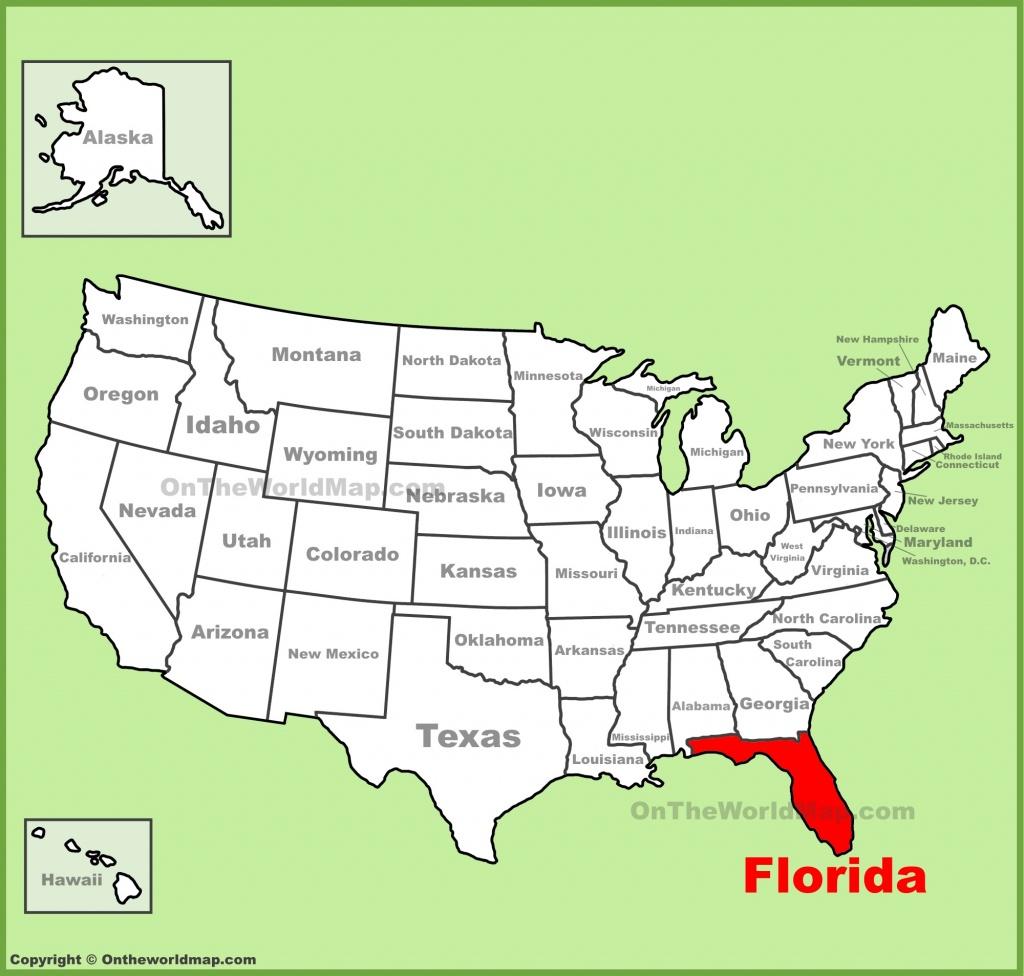 Florida State Maps | Usa | Maps Of Florida (Fl) - Boca Delray Florida Map