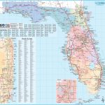 Florida State Maps   Usa   Maps Of Florida (Fl)   Road Map Of North Florida