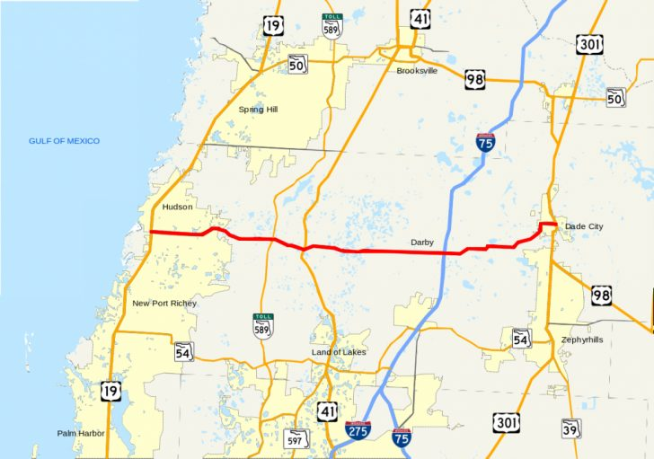 Google Maps Hudson Florida