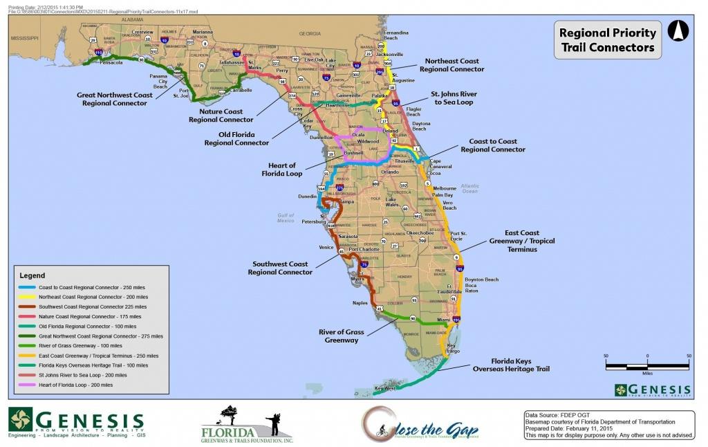 Florida Trail Map | D1Softball - Florida Trail Map
