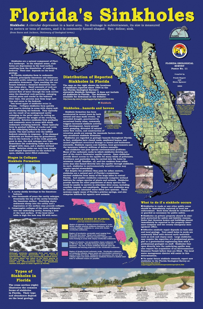 Florida+Sinkhole+Map | Florida Sinkhole Map | Florida | Ocala - Sinkhole Map Florida 2017