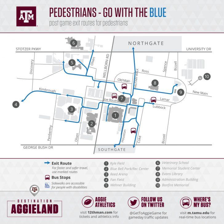 Texas A&m Parking Lot Map